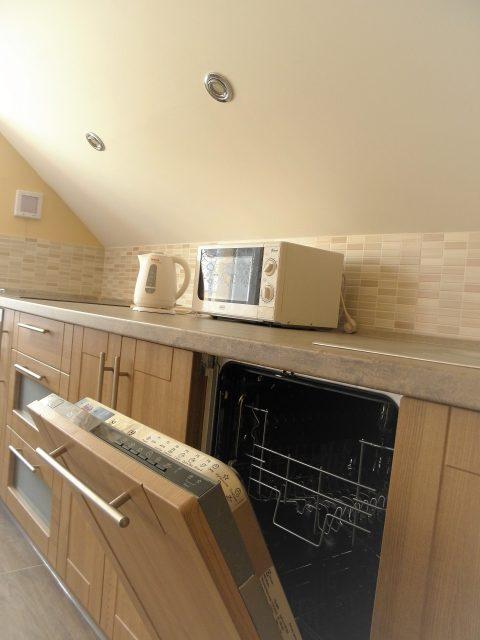 Umývačka riadu v prázdninovom byte